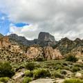 Notch Peak from the west.- Notch Peak Hike
