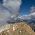 View north from the summit.- Mount Timpanogos via Aspen Grove
