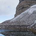 Emerald Lake along the route to Mount Timpanogos.- Mount Timpanogos via Aspen Grove
