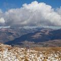 Looking north across Timpanogos Basin.- Mount Timpanogos via Aspen Grove