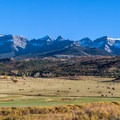 Great view of Sneffels Range.- Dallas Divide Scenic Route