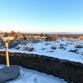 View from the visitor center.- Lava Beds National Monument