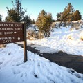 A trail from the visitor center accesses several of the lava tunnels and picnic areas.- Lava Beds National Monument