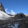 Timpanogos Shelter.- Mount Timpanogos via Aspen Grove