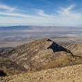 View west from the summit to the Great Basin and Bonneville Salt Flats.- Deseret Peak Hike