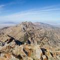 View north from the summit of Deseret Peak.- Deseret Peak Hike