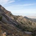 Pockets Fork.- Deseret Peak Hike