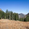 View north, upper Mill Fork.- Deseret Peak Hike