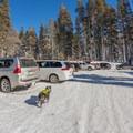 Echo Lake Sno-Park.- Echo Lake Snowshoe