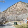 Little Mountain view.- Affleck Park Campground