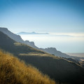 Looking out from Frary Peak in Antelope Island State Park.- Antelope Island State Park