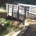 One of many small wooden bridges on the 680 Trail in Terra Linda/Sleepy Hollow Open Space Preserve. - Terra Linda Fire Road + 680 Trail Hike