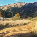 The entrance from Lucas Valley Road.- Terra Linda Fire Road + 680 Trail Hike