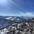 Nearing Quandary's summit, epic views across Colorado's mountain ranges.- Quandary Peak Hike, East Ridge