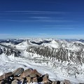 Magical summit views from Quandary Peak.- Quandary Peak Hike, East Ridge