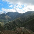 Looking up the north flank of Mount Diablo toward the summit.- Mount Diablo Hike via Mitchell Canyon Visitor Center