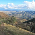 View east toward the Round Valley Regional Preserve.- Mount Diablo Hike via Mitchell Canyon Visitor Center