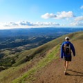 View west toward Diablo Foothills Regional Park.- Mount Diablo Hike via Mitchell Canyon Visitor Center