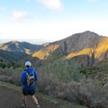 Looking down Mitchell Canyon.- Mount Diablo Hike via Mitchell Canyon Visitor Center