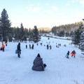 Sledding at Spooner Summit.- Spooner Summit Sledding