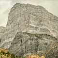 Notch Peak's west face.- Notch Peak Hike