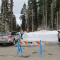 The Glacier Point Trailhead can be found in northeast corner of the Badger Pass Ski Area parking lot.- Glacier Point Cross-Country Ski