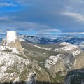 View of Half Dome from Washburn Point.- Glacier Point Cross-Country Ski