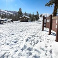 If the parking area is covered in snow, parking is available along the side of the road.- Big Bend Sledding Hill