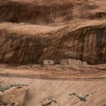 Close up view of Junction Ruin in Canyon De Chelly National Monument.- Canyon De Chelly National Monument