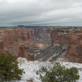 Spider Rock Overlook, Canyon De Chelly National Monument. - Canyon De Chelly National Monument