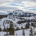 Devils Peak.- Matrimony Tree Snowshoe