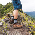 You really have to stay on your toes with wind gusts.- Pu'u Manamana Turnover Trail
