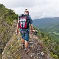 Watch your step!- Pu'u Manamana Turnover Trail
