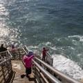 Ocean Access at Ladera Street.- Sunset Cliffs Natural Park