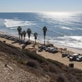 View south, San Onofre State Beach.- San Onofre State Beach