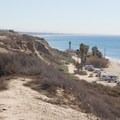 The San Onofre Nuclear Generation Station sits behind San Onofre Surf Beach.- San Onofre State Beach