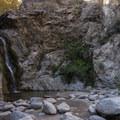 Eaton Canyon Falls.- Eaton Canyon Falls Hike