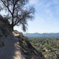 Hike up to Echo Mountain via the Sam Merrill Trail.- Echo Mountain Hike via Sam Merrill Trail