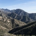 View east of San Gabriel Mountains from the Angeles Crest Highway.- Angeles Crest Highway