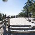 Jarvi Memorial Scenic Viewpoint off of the Angeles Crest Highway.- Angeles Crest Highway