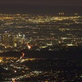 View of downtown Los Angeles and Santa Monica Bay from Mount Wilson Skyline Park.- Mount Wilson Skyline Park + Viewpoint