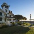 Point Fermin Lighthouse, built in 1874.- Point Fermin Park