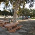 Picnic area at Point Fermin Park.- Point Fermin Park