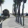 Walkway to Cabrillo Pier at Cabrillo Beach.- Cabrillo Beach