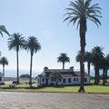 U.S. Coast Guard barracks at Point Vicente Lighthouse.- Point Vicente Lighthouse Park
