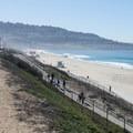 Redondo Beach looking south toward the Palos Verdes Peninsula.- Redondo Beach + Pier