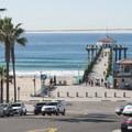 Manhattan Beach + Pier from Manhattan Beach Blvd.- Manhattan Beach + Pier