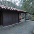 Restroom and shower facilities at Hermit Gulch Campground.- Hermit Gulch Campground