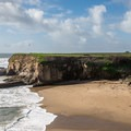 Views of Four Mile Beach on the Ohlone Bluff Trail.- Ohlone Bluff Hike