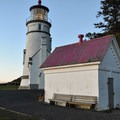 Heceta Head Lighthouse.- Heceta Head Trail